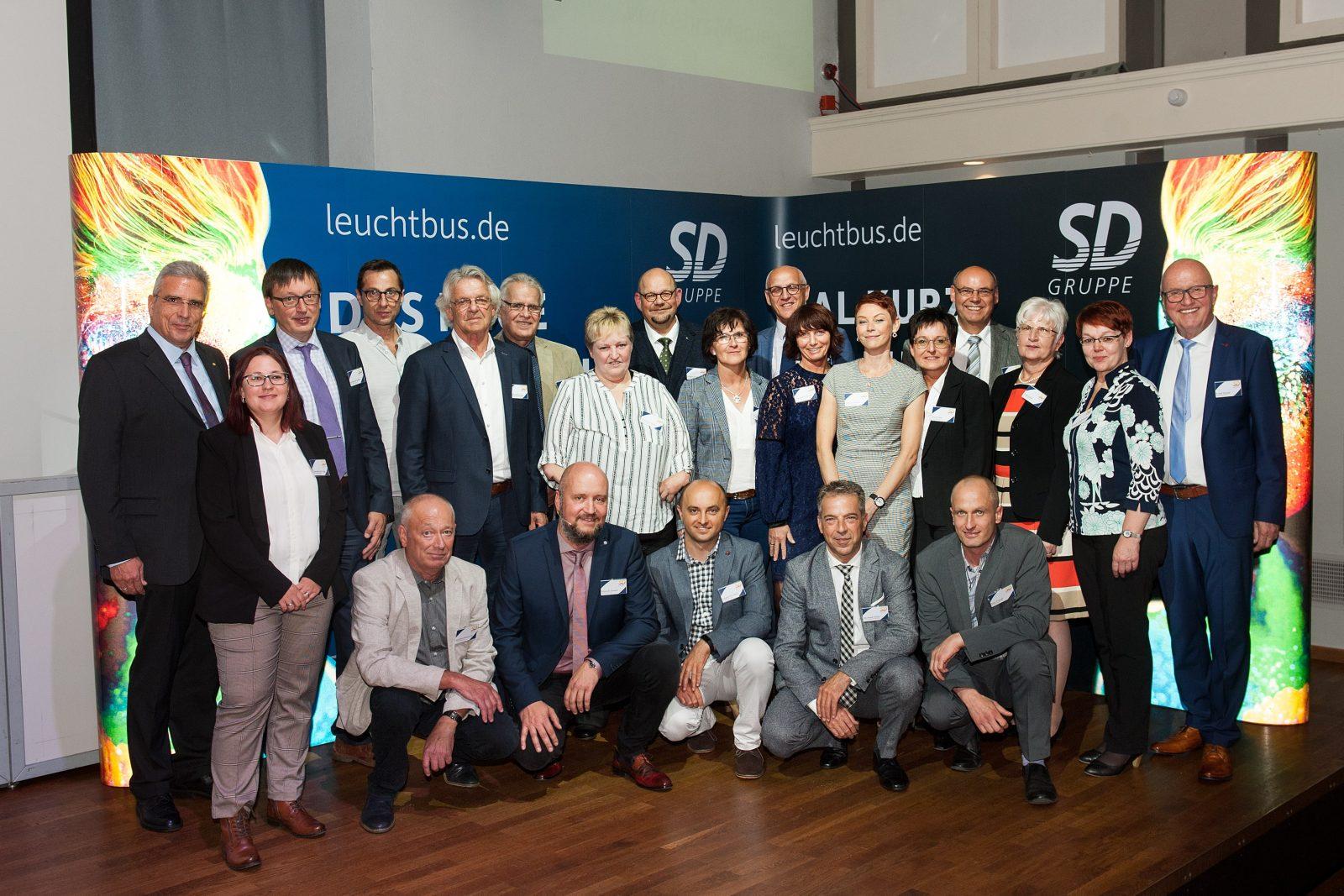 Jubilare bei der SD Gruppe 2019