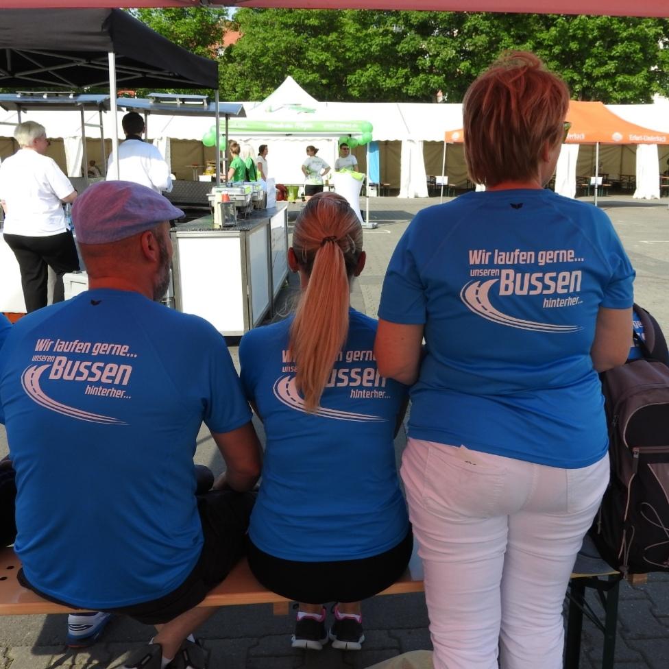 SD Gruppe Thüringen beim RUN Firmenlauf