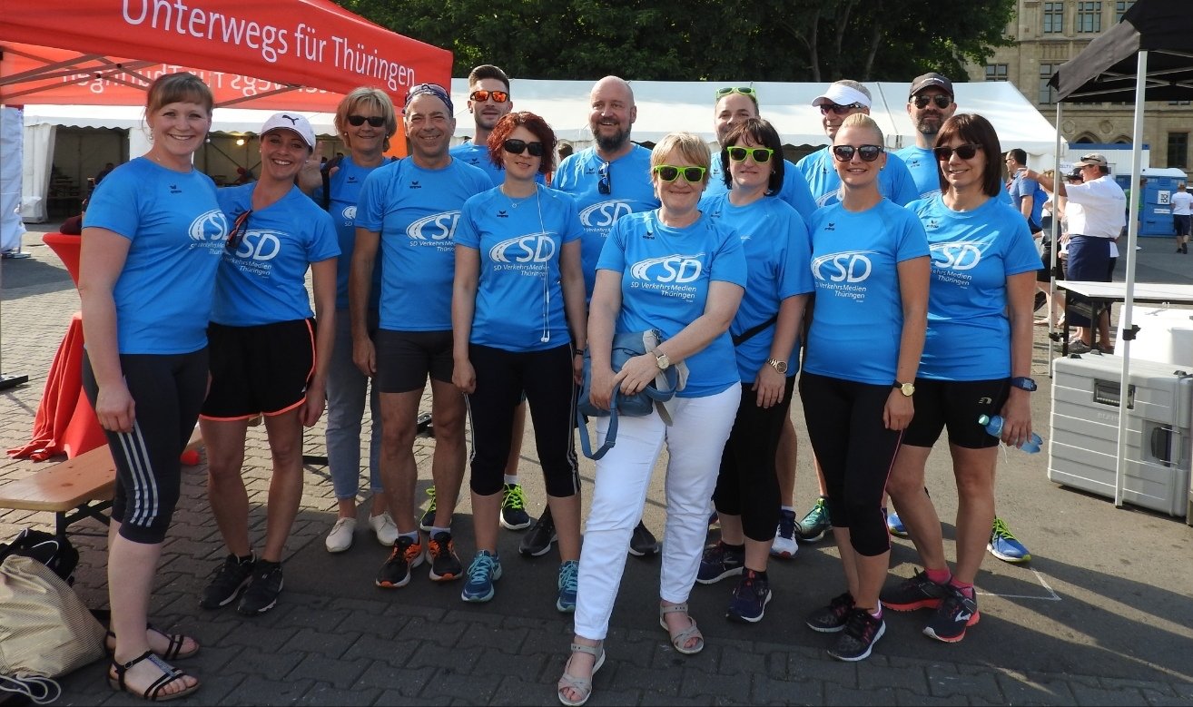 Das Team der SD Gruppe Thüringen