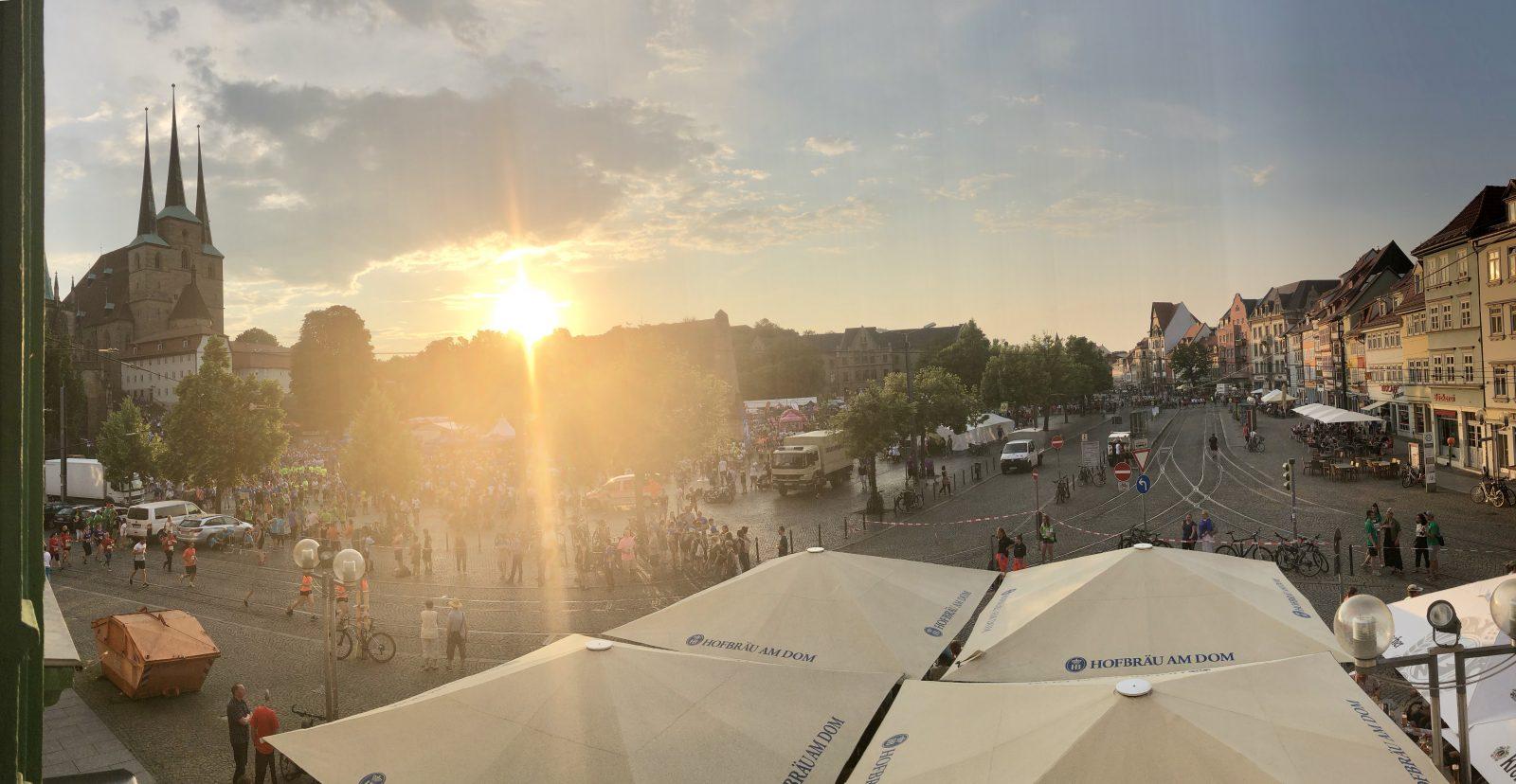 RUN Firmenlauf Erfurt 2019 - Domplatz