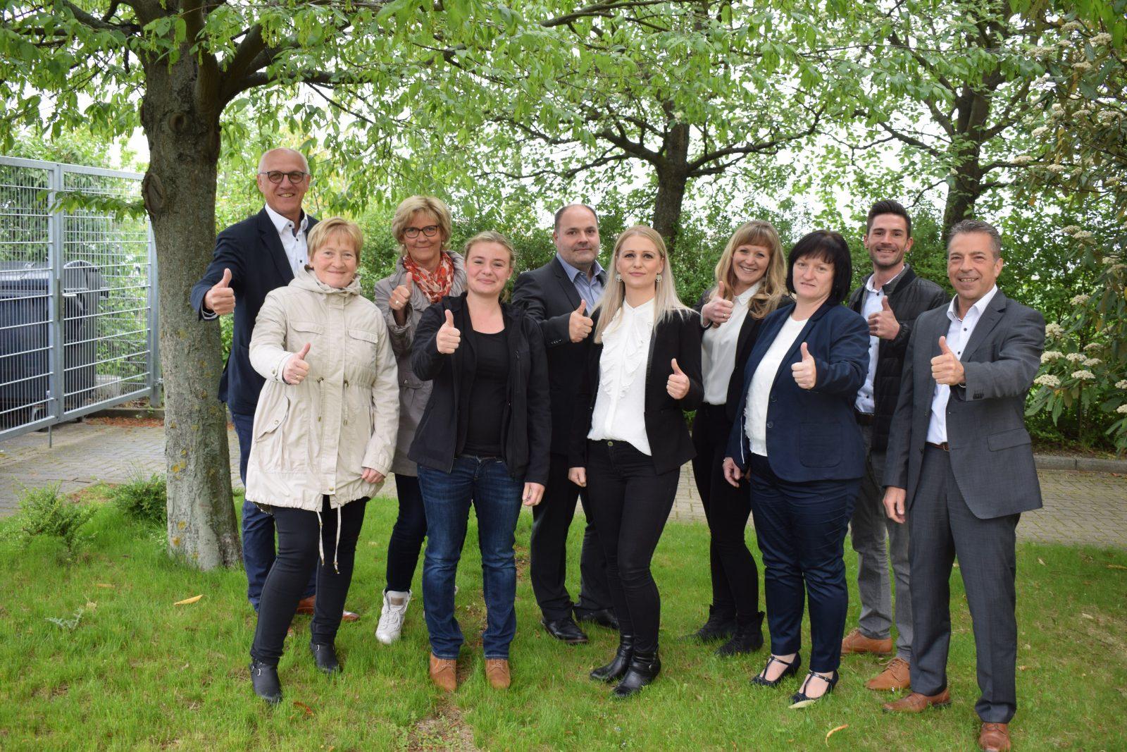 Team der SD Gruppe Thüringen