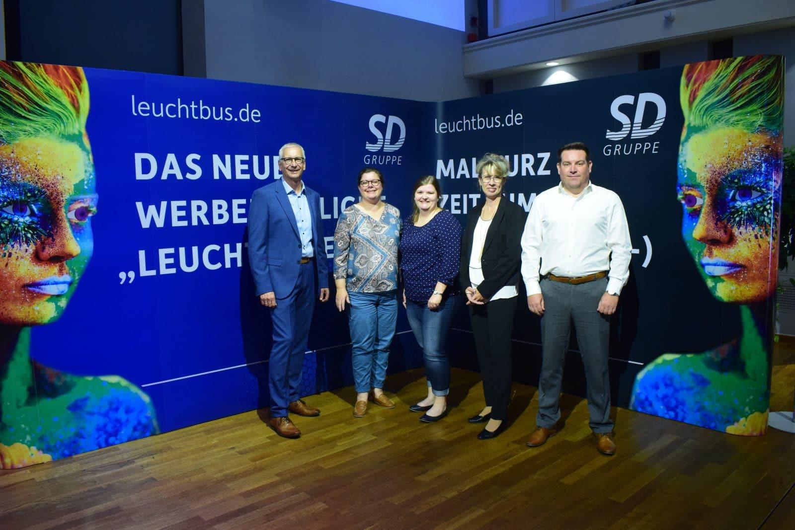 Team der SD Verkehrswerbung Hessen